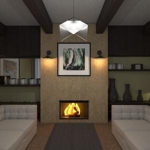 планировки дом декор гостиная архитектура 3d