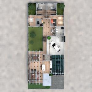 floorplans casa garagem arquitetura 3d