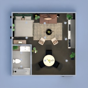 floorplans decor kitchen lighting dining room studio 3d