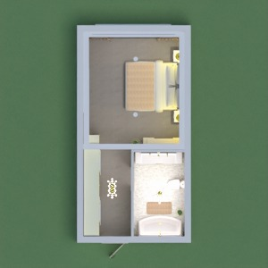 floorplans 浴室 卧室 3d