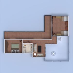 floorplans dom taras pokój dzienny oświetlenie krajobraz 3d