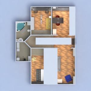 floorplans butas baldai dekoras pasidaryk pats vonia miegamasis svetainė virtuvė biuras apšvietimas renovacija namų apyvoka sandėliukas studija prieškambaris 3d