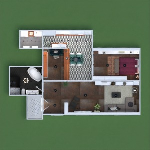 floorplans apartment terrace decor bedroom kitchen office lighting cafe dining room architecture storage studio entryway 3d
