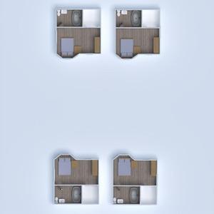 floorplans apartment terrace studio 3d