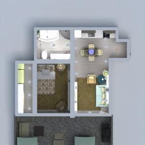 floorplans apartment terrace decor 3d