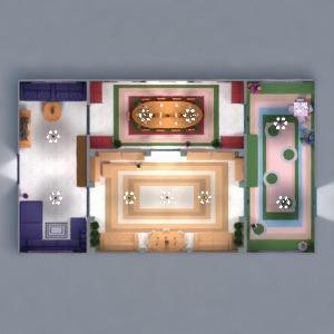 floorplans dom meble wystrój wnętrz pokój dzienny pokój diecięcy jadalnia architektura 3d
