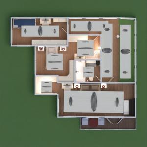 floorplans casa mobílias decoração casa de banho dormitório quarto garagem cozinha área externa quarto infantil utensílios domésticos patamar 3d