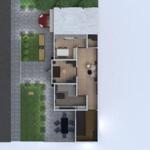 floorplans haus mobiliar dekor schlafzimmer wohnzimmer küche 3d