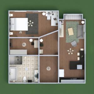 floorplans apartamento casa muebles decoración cuarto de baño dormitorio salón cocina 3d