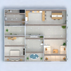 floorplans house lighting 3d