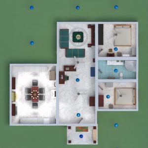 floorplans casa casa de banho dormitório quarto garagem 3d
