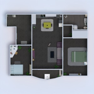 floorplans apartment furniture decor bathroom bedroom living room kitchen kids room renovation 3d