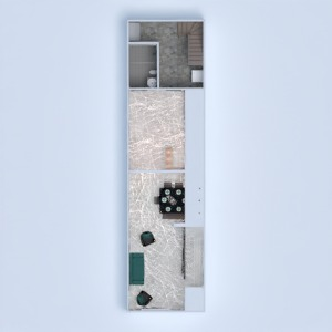 floorplans house kitchen household dining room 3d