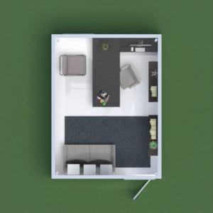 floorplans dekoras biuras 3d