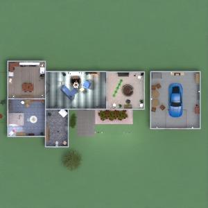 планировки дом гараж улица офис 3d