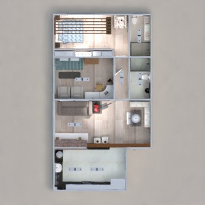 floorplans apartment furniture decor bedroom living room kitchen office lighting household cafe dining room architecture storage entryway 3d