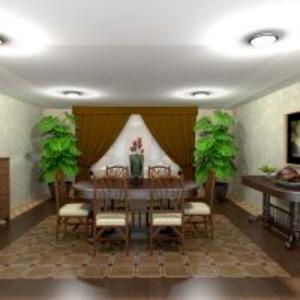 floorplans apartment house furniture decor dining room 3d