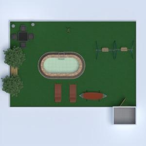 floorplans namas terasa miegamasis virtuvė eksterjeras 3d