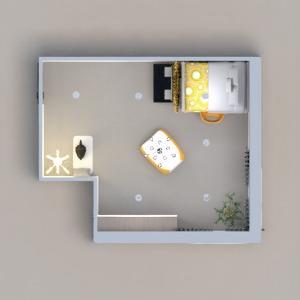 floorplans furniture decor bedroom kids room lighting 3d