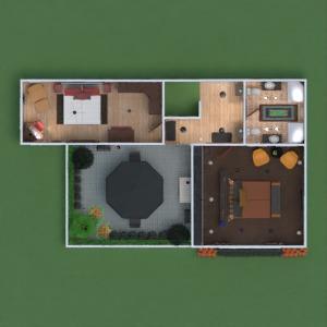 planos casa muebles decoración bricolaje dormitorio paisaje comedor descansillo 3d