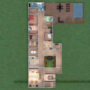 floorplans appartement maison terrasse meubles décoration diy salle de bains chambre à coucher salon garage cuisine extérieur chambre d'enfant bureau eclairage paysage maison café salle à manger architecture espace de rangement studio 3d