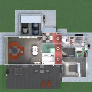 floorplans wohnung haus terrasse mobiliar badezimmer schlafzimmer wohnzimmer garage küche outdoor kinderzimmer beleuchtung esszimmer architektur eingang 3d