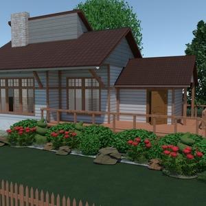 floorplans house terrace outdoor architecture 3d