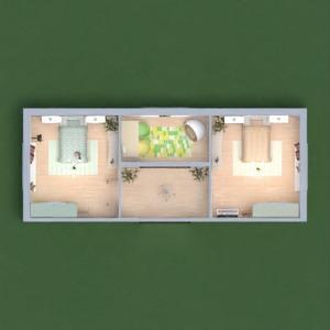floorplans chambre à coucher chambre d'enfant 3d