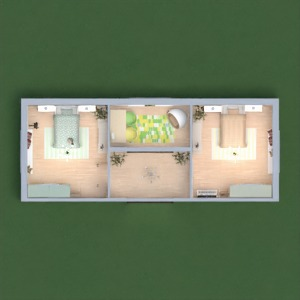 floorplans 卧室 儿童房 3d