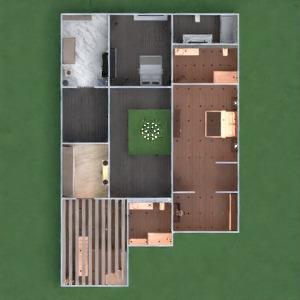 floorplans house furniture decor kitchen outdoor 3d