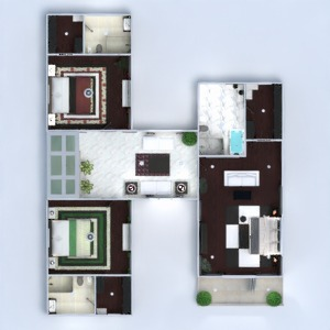 floorplans house terrace furniture decor bathroom bedroom living room garage kitchen outdoor office lighting landscape household dining room architecture studio 3d
