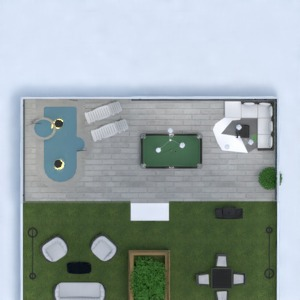 floorplans house terrace bathroom bedroom living room 3d