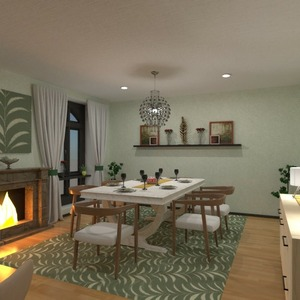 floorplans decor dining room 3d