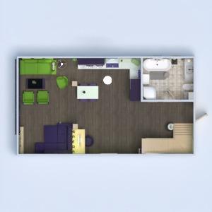 floorplans apartamento casa varanda inferior mobílias decoração casa de banho dormitório quarto cozinha área externa escritório iluminação reforma utensílios domésticos cafeterias sala de jantar arquitetura despensa estúdio patamar 3d