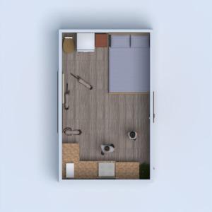 floorplans sypialnia kuchnia na zewnątrz krajobraz wejście 3d