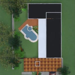 floorplans maison décoration chambre à coucher cuisine extérieur 3d