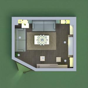 floorplans dom pokój dzienny oświetlenie 3d