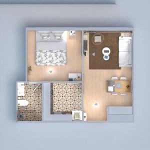 floorplans appartement diy salon salle à manger 3d