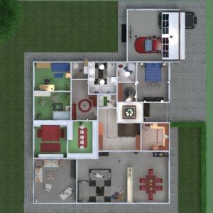 floorplans butas namas terasa baldai dekoras vonia miegamasis svetainė garažas virtuvė eksterjeras vaikų kambarys apšvietimas valgomasis аrchitektūra sandėliukas studija prieškambaris 3d