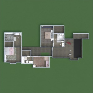 floorplans house terrace furniture decor household 3d