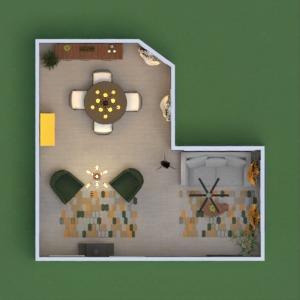 floorplans mobiliar dekor wohnzimmer esszimmer 3d