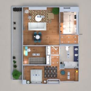 floorplans apartment decor living room kitchen office lighting dining room architecture 3d