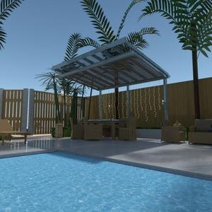 floorplans haus mobiliar dekor outdoor landschaft 3d