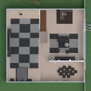 floorplans łazienka sypialnia pokój dzienny kuchnia jadalnia 3d