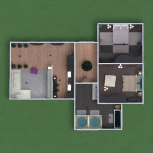 floorplans apartment furniture decor bathroom bedroom living room kitchen lighting 3d