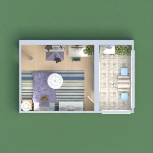 floorplans terrace bedroom kids room 3d