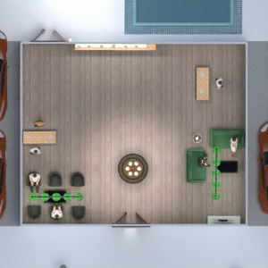 floorplans lighting storage studio 3d