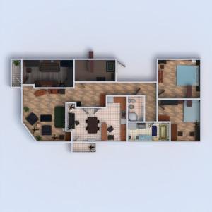 floorplans wohnung wohnzimmer küche büro 3d