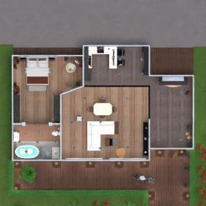 floorplans apartment furniture decor bathroom bedroom living room kitchen lighting household 3d