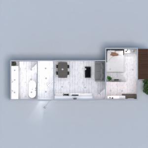 floorplans butas dekoras pasidaryk pats vonia miegamasis svetainė virtuvė eksterjeras apšvietimas valgomasis 3d